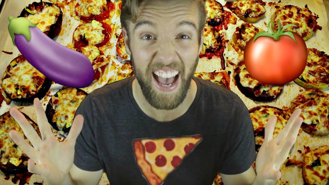 MINI VEGETABLE PIZZA CHALLENGE!