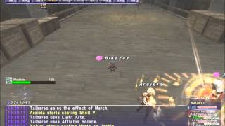 New FFXI August 2014 SOA Mission battle The Charlatan
