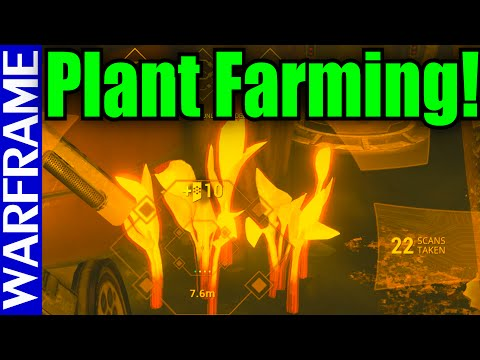 Warframe The Silver Grove Plant Farming Guide: How to Make Apothics for Titania! [1080HD]