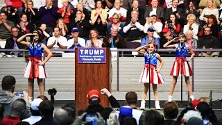 Why Is This Trump Rally Video So Scary?(At a Donald Trump rally in Pensacola Florida, a trio of young girls performed a song and dance routine for the crowd. The video is sending chills down the spines ..., 2016-01-16T05:30:00.000Z)