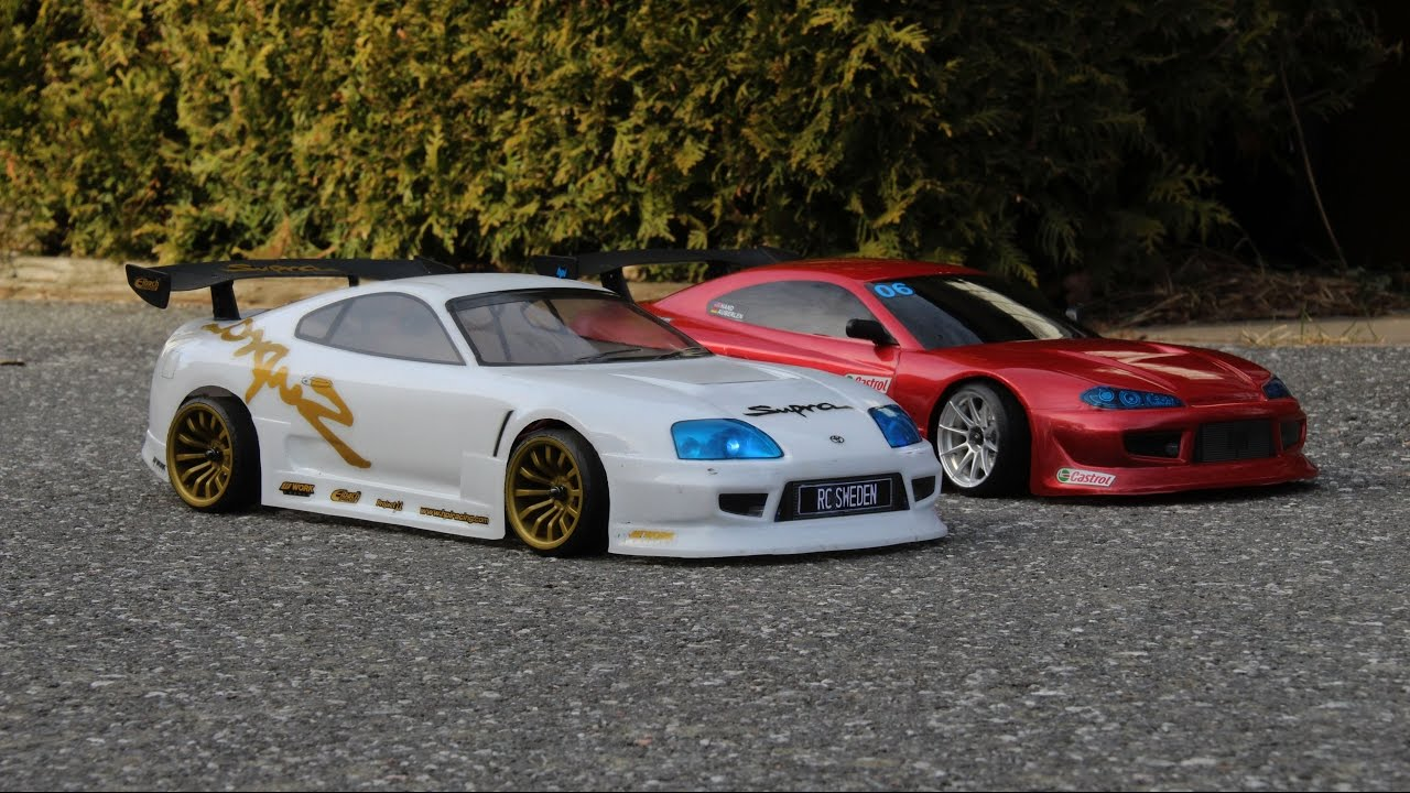 Nissan Silvia Toyota Supra Rc Drifting Youtube