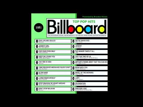 Billboard Top Pop Hits  1981