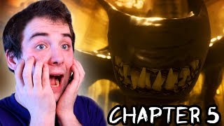 THE END - BENDY POKONANY?! - Bendy And The Ink Machine CHAPTER 5