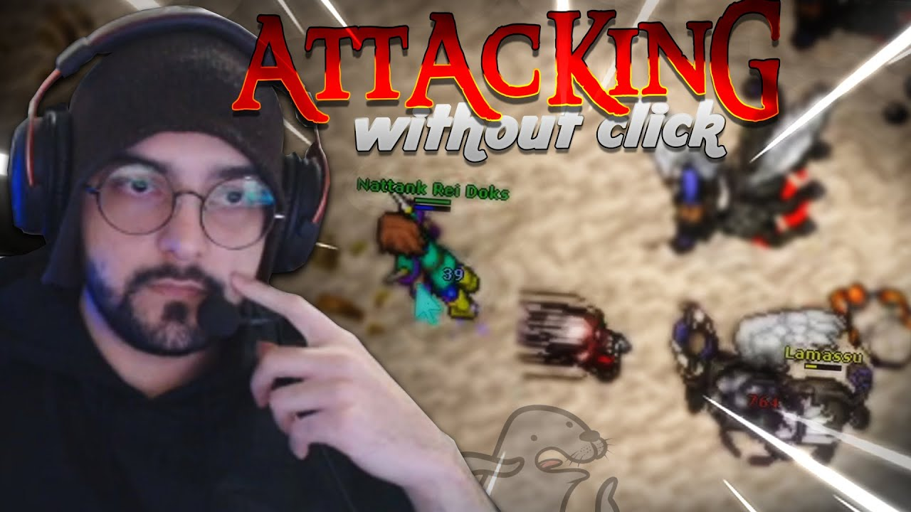 LEVEL 930 TAKING HS! ATTACKING WITHOUT CLICK and LOOTING COBRA HOOD! - TibiaClips #TibiaFerumbrinha🧙