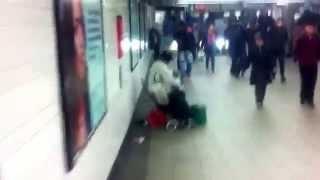 Музыка на ПИЛЕ - Пила 5 в метро Нью-йорка
