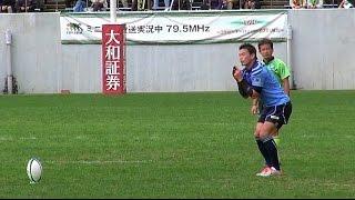 ワールドカップラグビーで大活躍した日本代表。中でも五郎丸歩選手の拝...