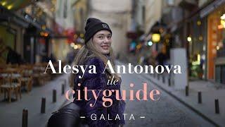 Oyuncu ve Model Alesya Antonova ile keyifli güzel bir #GALATA turu yapmaya ne dersiniz?
