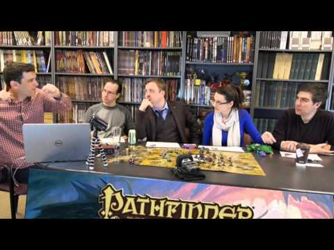 Paizo Team plays Pathfinder with Ben from the Dicestormers