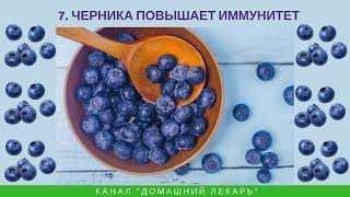Лечебные свойства ягод черники - Домашний лекарь - выпуск №260