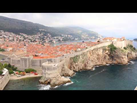 Timelapse Dubrovnik Croatia best places [Dubrovnik walls, Panorama restaurant etc.]
