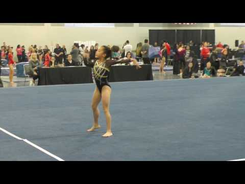 Perfect 10 Floor Routine! Level 7 USAG Floor Routine/Hanh Hoang