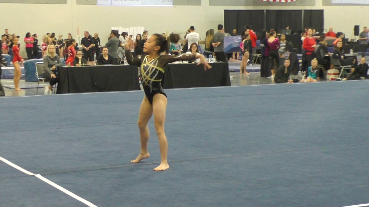 Perfect 10 Floor Routine! Level 7 USAG Floor Routine/Hanh Hoang ...