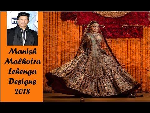 90615665fc Manish Malhotra Bridal Lehenga Collection 2018 - YouTube