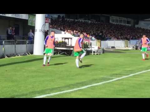 Man united vs Northern Ireland u18 (bannsider tv)