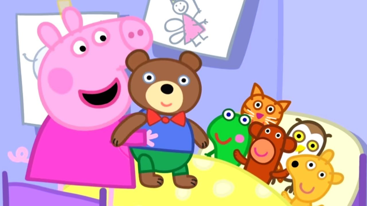 peppa pig en español episodios completos teddy visita a peppa