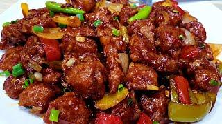 Restaurant Style Chili Chicken with Secret Tips - Dry Chicken Chilli Recipe