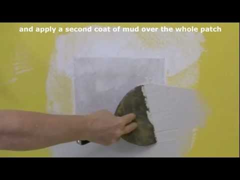 How to Repair Holes in Drywall and Plaster