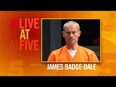 Broadway.com #LiveatFive with James Badge Dale from BUILDING THE WALL