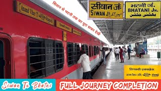 #Siwan_To_Bhatni . . . Journey Completion With #04005_Lichchhavi_Express