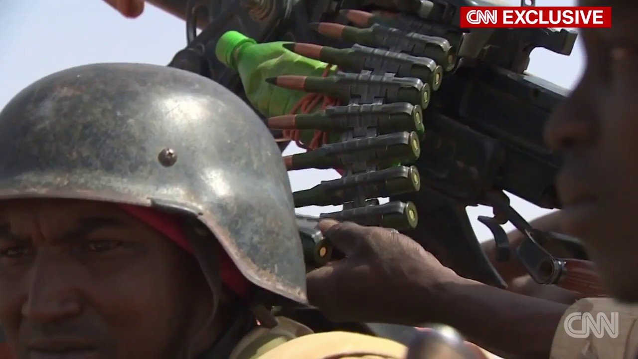 Exclusive look inside the Niger ambush zone