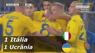 Itália 1 x 1 Ucrânia HD Gols & Melhores Momentos 10/10/2018