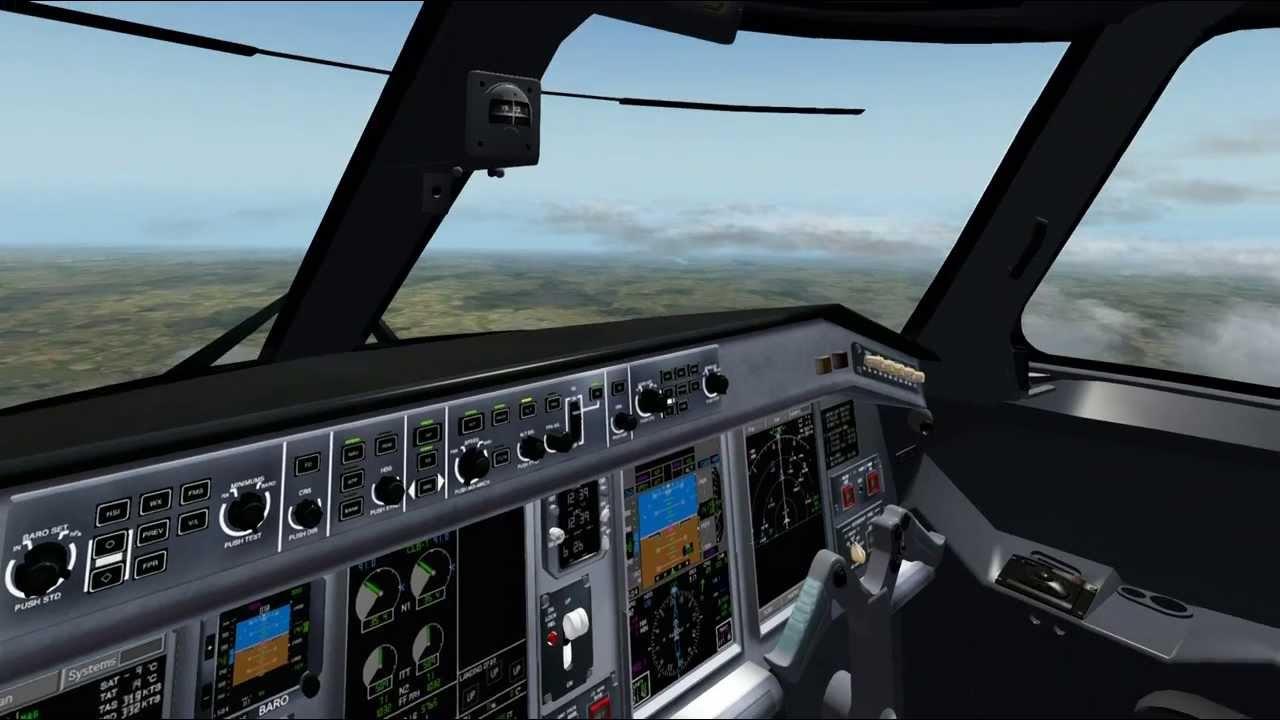 X Plane Embraer E-190LR bye SSG