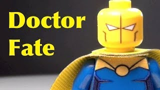 LEGO Doctor Fate Custom DC Super Heroes Minifigure Review