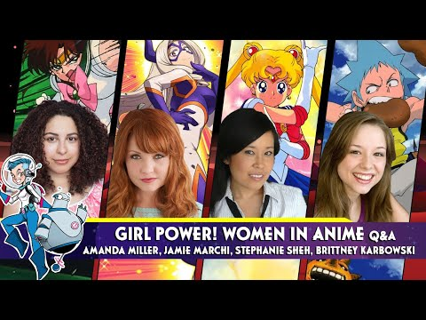 Girl Power! Women in Anime Q&A