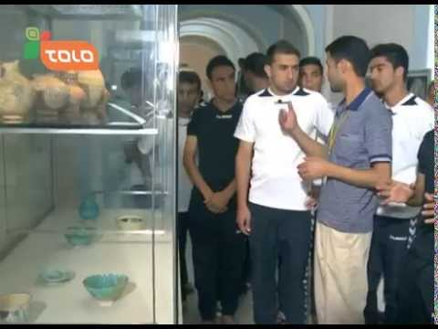 Players From three teams Went to National Museum of Afghanistan