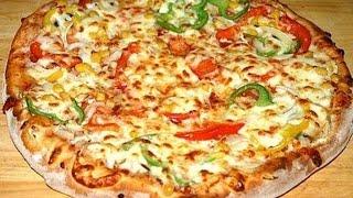 Домашняя пицца  Видео рецепт вкусной пиццы