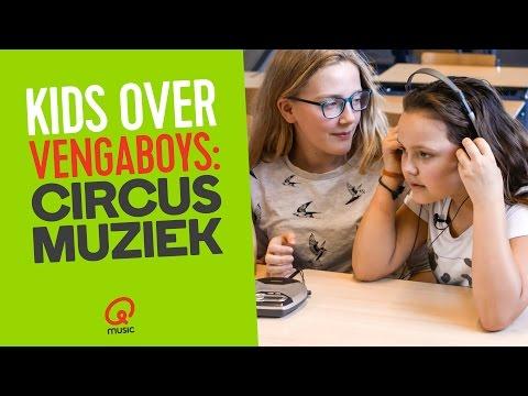 "KIDS OVER VENGABOYS: ""CIRCUSMUZIEK"" // QMUSIC"