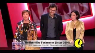 """""""JE REMERCIE LE MONSIEUR QUI PASSE LA MUSIQUE !"""" - César 2014"""