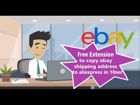 Aliexpress to eBay dropshipping extension - make order in less than minute
