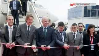 TG 29.04.15 Turkish Airlines atterra a Bari, nuovo volo per Istanbul
