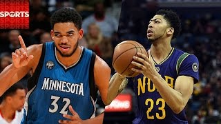 Who Will Have the Better NBA Season: Karl-Anthony Towns or Anthony Davis?