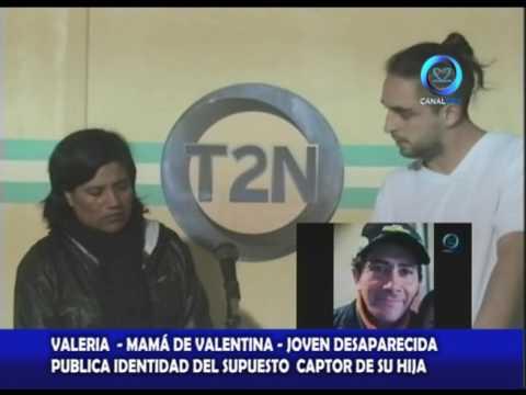 VALENTINA MARTINEZ JOVEN DESAPARECIDA