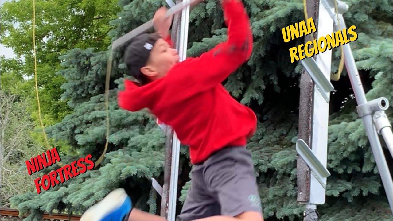 Reacting to my Ninja Fortress Unaa Regionals 2020 Slater Smith ( Sandy Zimmermans Backyard Course )