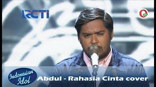 Penampilan Keren Abdul Kena Banget (Rahasia Cinta) - Indonesian Idol 2018