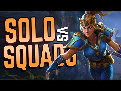 Mage SOLO vs SQUADS in Realm Royale!