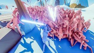 1000 NÔNG DÂN Vs. 1 SIÊU NHÂN! | Totally Accurate Battle Simulator #2