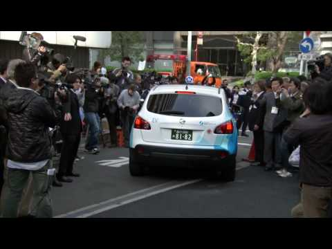 Tokyo Electric Taxi Project Launch