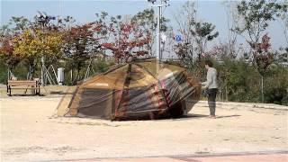 캠프타운 INSTA 텐트 리오그란데 설치 동영상