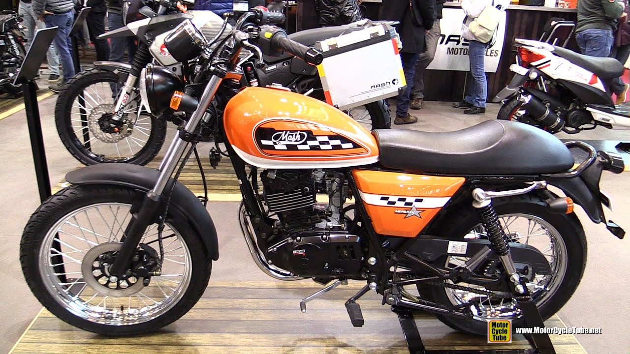 2016 mash seventy 125 walkaround 2015 salon de la moto paris youtube. Black Bedroom Furniture Sets. Home Design Ideas