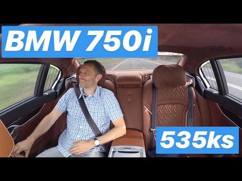 Nova BMW Serija 7, auto u kojem se vozi straga - testirao Juraj Šebalj