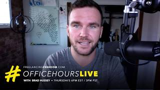 How to Identify, Action and Optimize your Focus! #OfficeHoursLive #FreelancingFreedom