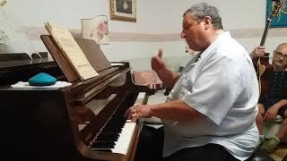 Una serata a casa del Maestro Antonio di Salvo con Amici - Eugenio Lo Gullo.