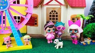 Bonecas LOL Surpresa Historinha Os Bebezinhos LOL Sumiram!!! -Novelinha LOL Surprise em portugues