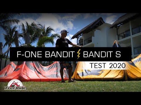 Test Aile De Kite Fone  Bandit 2020 Vs Bandit S 2020