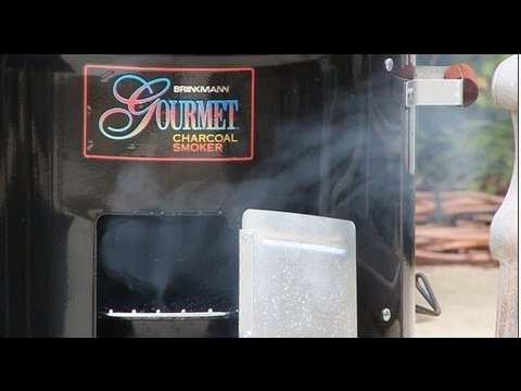 Warning: Brinkmann Charcoal Smoker Setup