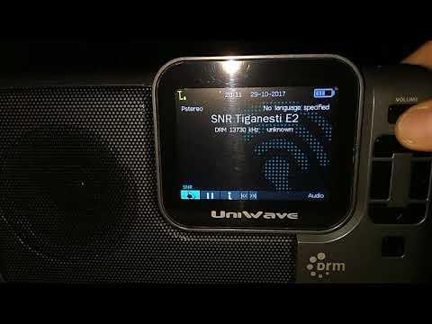 Rádio Romênia Internacional 13730 kHz DRM para o Brasil